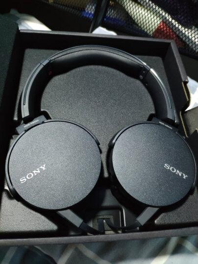 索尼(SONY)MDR-XB550AP 重低音立体声耳机 头戴式 黑色 晒单图