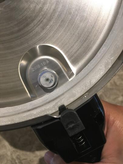苏泊尔SUPOR好帮手304不锈钢5.0L压力锅22cm高压锅燃气电磁炉通用YS22ED 晒单图