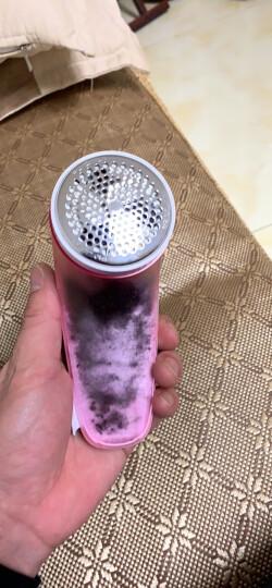飞科(FLYCO)毛球修剪器起球器去毛球器刮毛器剃毛器衣服家用剃球器剃毛机除毛器打毛器吸球器去球器 FR5222+1刀头 晒单图