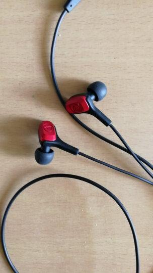 铁三角 CKB70 动铁音乐入耳式耳机 黑色 HIFI 运动跑步 晒单图