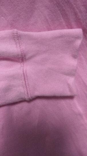红豆相思鸟秋衣秋裤 男女士薄款纯棉中高领棉毛衫基础内衣套装 女款大红 170/95 晒单图