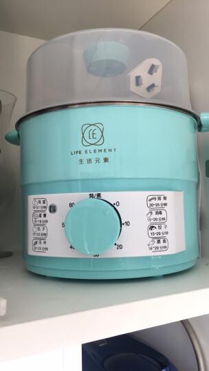 生活元素(LIFE ELEMENT) 煮蛋器不锈钢定时煮蛋蒸蛋器防干烧断电双层ZDQ-G1074 ZDQ-G1074 晒单图