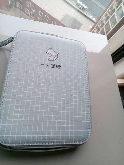 安蔻(ANGOO)大容量笔袋铅笔盒韩版创意文具盒 韩国简约男女学生笔袋ipad手拿包 学习用品 一只狐狸 晒单图