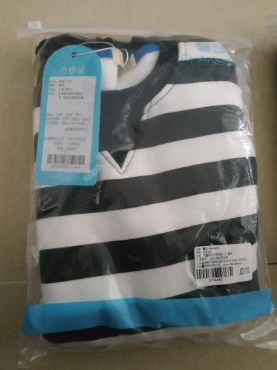 馨颂 男童卫衣儿童长袖运动上衣休闲T恤 J061A1 灰色 130 晒单图