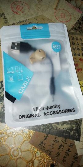 罗巴赫 运动迷你蓝牙耳机入耳迷你隐形4.1无线听歌微型蓝牙耳机手机通用 白色+充头+指环支架 晒单图