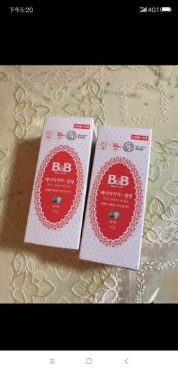 保宁(B&B)幼儿儿童水果味牙膏草莓味90g 适合4岁以上 晒单图