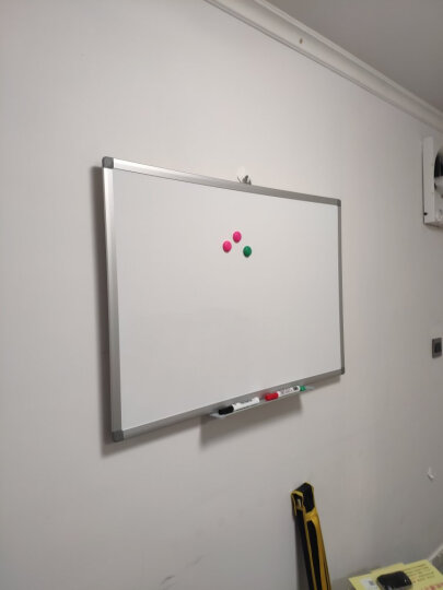 比比牛 白板挂式100*150cm 磁性大白板 办公培训会议 畅写BBND100150 晒单图