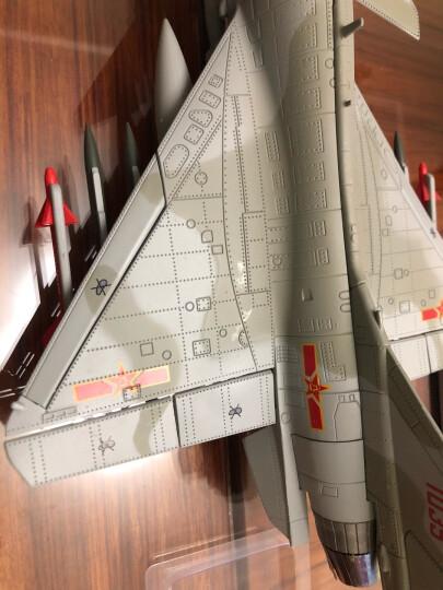 特尔博 1:48歼10B飞机模型仿真合金军事战斗机模型 晒单图