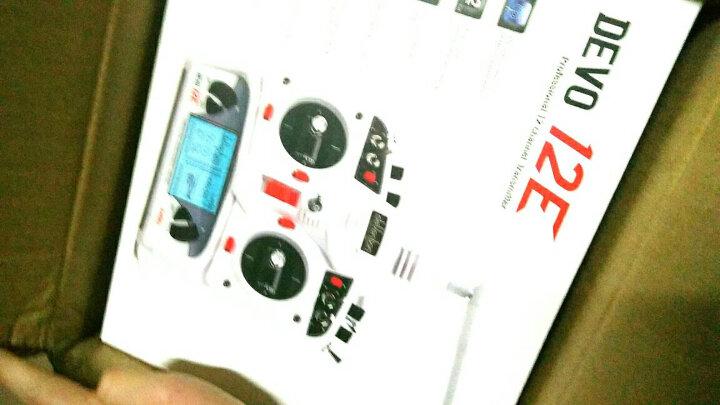 华科尔 遥控器DEVO 10 10通道2.4G航模固定翼直升D10接收器 官方标配 晒单图