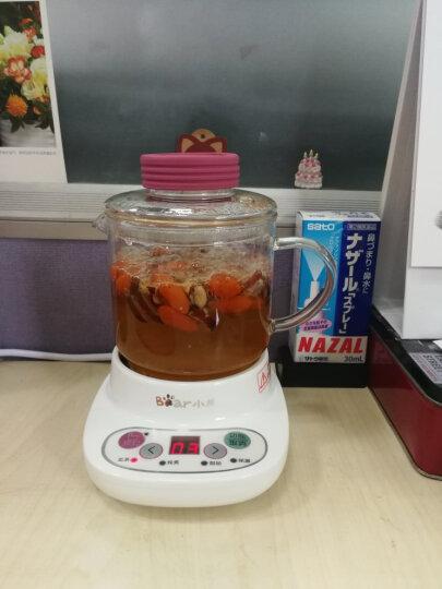 小熊(Bear)迷你养生壶多功能玻璃烧水壶电热杯煮茶器煮茶壶花茶壶养生杯 YSH-A03U1 0.4L 晒单图