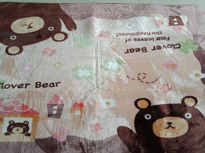 夏浪 卡通大地毯空调房客厅卧室家用床边毯 儿童环保爬行地毯 棕熊 130*185cm(主图尺寸) 晒单图