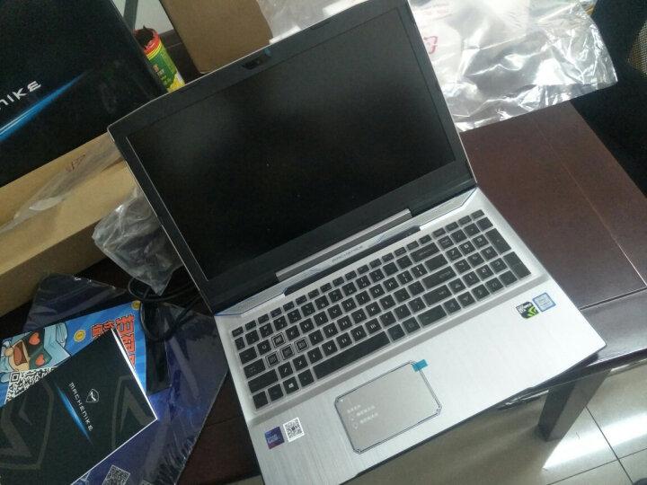 机械师T90 游戏本八代i7-8750H/GTX1050 4G独显/炫彩键盘吃鸡轻薄游戏笔记本电脑 银色 加强版i7/8G/128G固态+1T 晒单图
