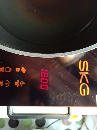 SKG电磁炉电陶炉茶炉家用光波炉不挑锅无高频辐射三环大功率(可烧烤) 三环火 晒单图