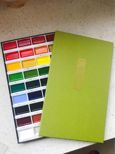 日本进口KURETAKE吴竹水彩笔 自来水笔水彩颜彩画笔 储水毛笔 自来水笔平笔单只装 晒单图