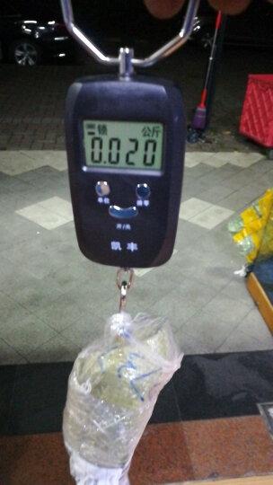凯丰 (KF)便携式手提秤50kg电子称 行李秤 快递秤弹簧秤电子秤精准克称 【带护手胶棉】时尚黑豪华款双精度+送电池 晒单图