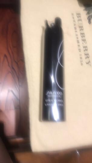资生堂(Shiseido) 秀场造型高定型发胶180g 进口男女士头发造型蓬松喷雾快干细腻强定型干胶 晒单图