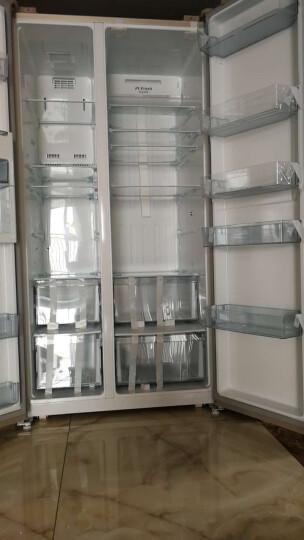 美的(Midea)655升 对开门冰箱 双变频无霜 一级能效 智能APP 大容量电冰箱 米兰金 BCD-655WKPZM(E) 晒单图