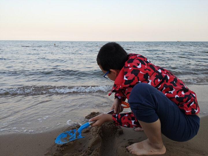【超大号沙滩车】儿童沙滩玩具车套装大号 宝宝洗澡夏日戏水玩具 玩沙子挖沙漏铲子工具 大号铲车13件套 晒单图