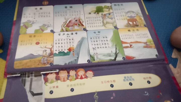 活石有声挂图22面充电版 中英文有声读物婴儿益智玩具0-1-3岁发声早教点读机 儿童看图识数字认知故事书 晒单图