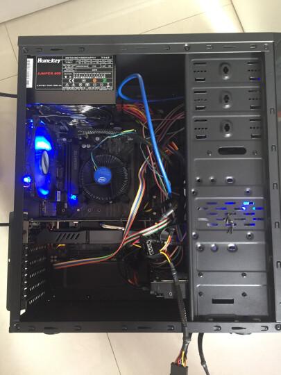 先马(SAMA)游戏风暴 12CM蓝光 机箱风扇(LED蓝光/小3拼+大四拼接口/航空动力学/低噪音/高效散热) 晒单图