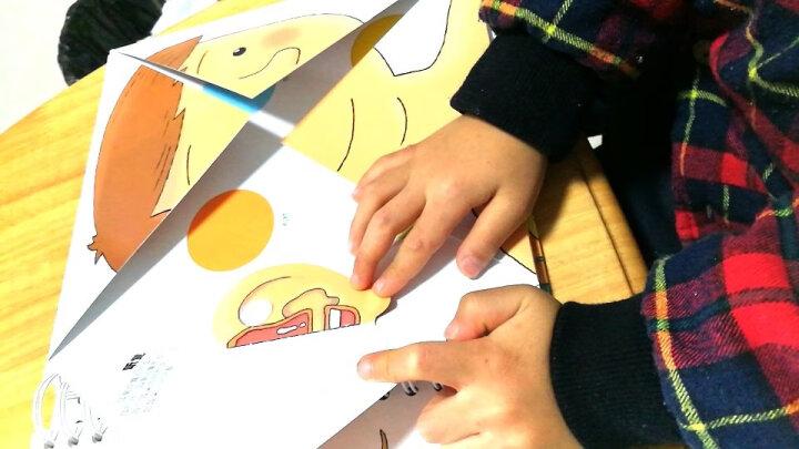 【领券拍下72.5元】我们的身体 乐乐趣科普翻翻书儿童3d立体书籍 3-6岁儿童绘本 晒单图