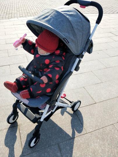 yuyu YUYU悠悠婴儿推车超轻便伞车可坐可平躺婴儿车避震便携儿童手推车 鸿羽款玫红色 晒单图