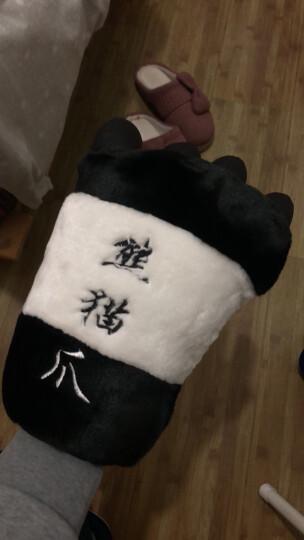 iPanda爱潘达爱情公寓3 关谷同熊猫爪子手套 毛绒熊猫手掌 玩具手套 中号单只 晒单图