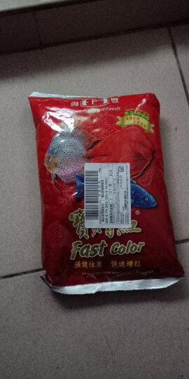 宝赠红 台湾海丰 袋装1公斤(中粒3mm) 血鹦鹉罗汉鱼饲料 发财地图神仙鱼颗粒 增红增色鱼粮 晒单图