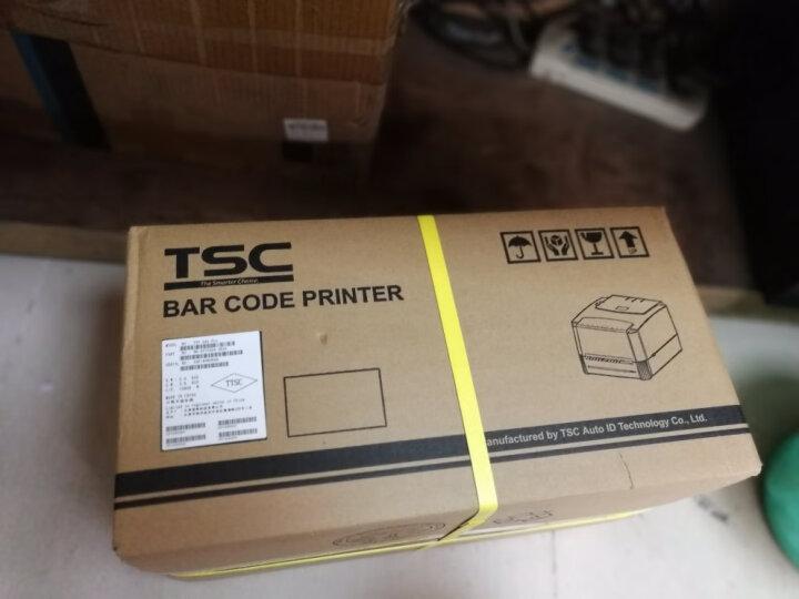 TSC条码打印机 ttp-244Pro标签打单机 热转印热敏不干胶办公票据快递电子面单碳带打印机家用 台半244pro【含碳带+标签纸】*2+延保2年 晒单图