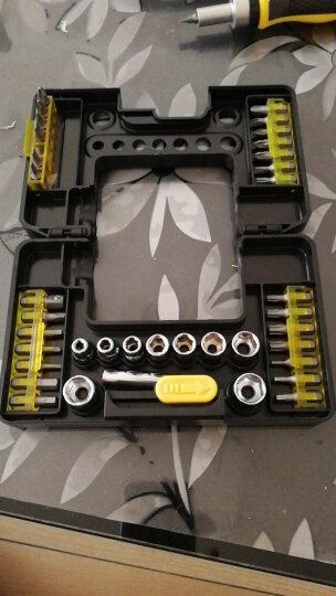 史丹利(Stanley)棘轮螺丝刀工具套装 紧固工具箱套装23件套 ST-03120 晒单图