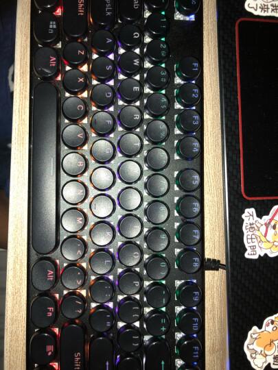 魔炼者(MAGIC-REFINER)1501单色背光方键帽104键吃鸡专业机械键盘青轴有线USB背光电竞机械游戏键盘 晒单图