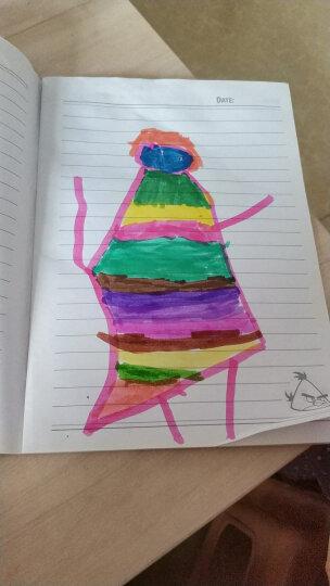 晨光(M&G)24色纤维软头水彩笔圆杆儿童绘画笔 24支/盒ACP92169 晒单图