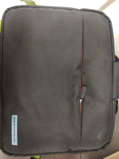 英制 BRINCH电脑包14.4英寸通用日韩版单肩手提苹果Air联想小米惠普华硕戴尔笔记本包内胆包 BW-127黑色 晒单图