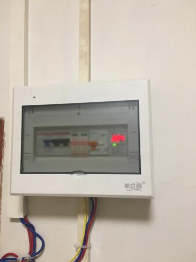 科继家用单相220V自复式过欠压保护器延时自动复位开关数显上进线2P/40A50A63A 63A 晒单图