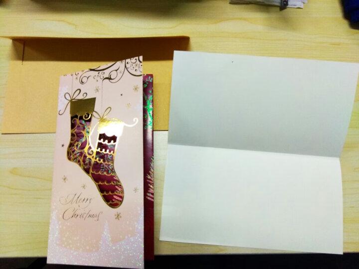 汤丞一品 圣诞节日贺卡公司商务活动年会员工祝福纪念礼物创意小礼品感恩卡片送朋友同学老师明信片 圣诞贺卡7个装 晒单图