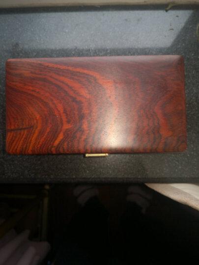 红酸枝首饰盒 收纳盒 红木珠宝盒  表盒 晒单图