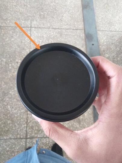 小麦秸秆双盖带吸管防漏水杯 白粉奶昔杯运动水杯 450ml 米色 晒单图