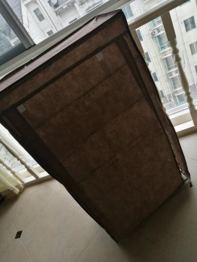 亚思特加厚无纺布鞋柜 防尘防潮鞋厨 6层时尚收纳柜   层架鞋架06C 咖啡色 晒单图