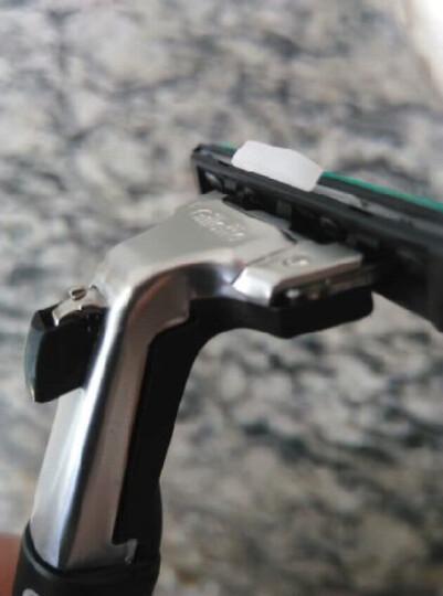 吉列Gillette手动剃须刀刮胡刀刀片吉利威锋旋转双层(8刀头) 晒单图