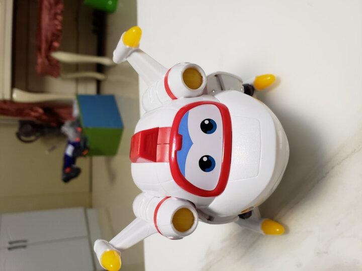 奥迪双钻超级飞侠玩具第5季变形机器人乐迪园园国际机场场景套装 大变形机器人-米克 晒单图