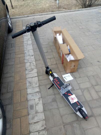 领奥 电动滑板车成人折叠电动车 城市智能便捷超轻踏板代驾自行车两轮锂电池迷你助力电瓶车男女代步车 【36V-30KM豪华版】可拆座椅+三减震+防爆胎 晒单图