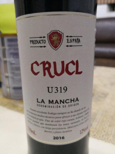 西班牙原瓶进口红酒整箱 罗莎庄园(ROOSAR) 罗莎萄客U319干红葡萄酒六支整箱装 750ml*6 晒单图