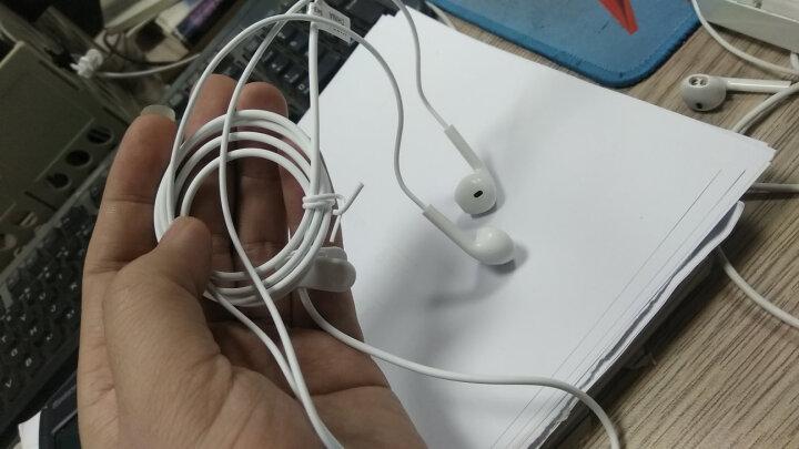 BYZ S366 入耳式手机耳机 立体重低音有线耳麦  适用小米苹果iPhone6/6P 白色 晒单图