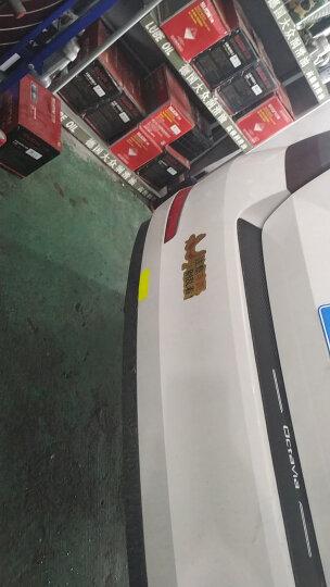 3M 钻石级反光警示贴纸 荧光橙色车贴3x8cm(10片) 汽车自行车电动车摩托车婴儿车头盔夜间安全反光膜 晒单图