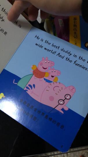 小猪佩奇 Peppa Pig 绘本故事书拼图立体双语睡前故事书(一辑+二辑) 抱枕毛绒玩具套装 小猪佩奇主题绘本故事书全套5册 趣味贴纸游戏书8册 晒单图