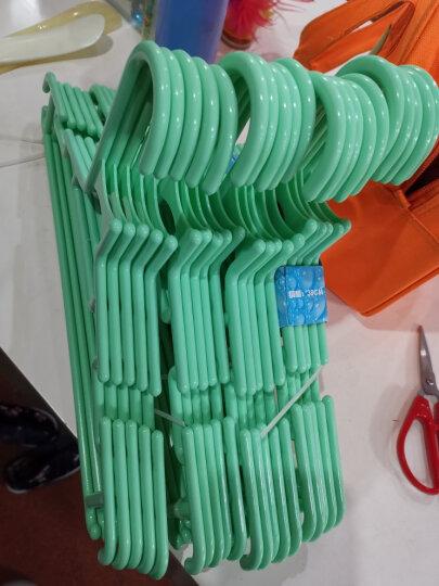日益新 衣架 塑料多功能晾衣架20只装 颜色随机 38cm 小号 RYX-01003 晒单图