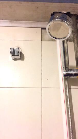 九牧(JOMOO)【增压】增压花洒喷头加压淋雨 淋浴喷头套装洗澡单头软管莲蓬淋浴器S130011 A【三件套】增压喷头+1.5米软管+墙座 晒单图