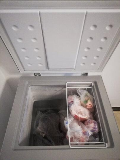 美的(Midea)96升 冷藏冷冻转换冰柜 迷你家用小冷柜 一级能效 单温小冰箱 (悦动粉) BD/BC-96KM(E) 晒单图
