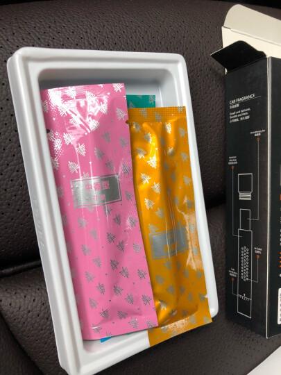 图拉斯(TORRAS)汽车香水 车载香水空调出风口香水座 汽车用品 车内除异味清新空气香薰棒香膏  气质红 晒单图