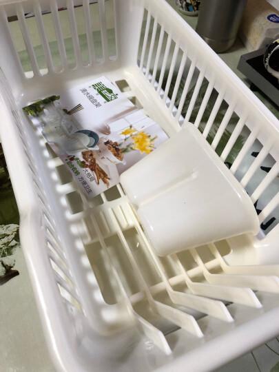 美居客滤水架厨房沥水碗架滴水碗盘架 晒单图